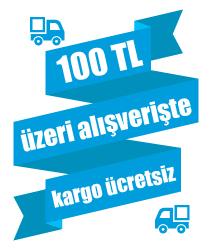 100 TL ve Üzeri Alışverişlerde Ücretsiz Kargo!
