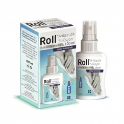 ROLL ANTİSEPTİK SOLÜSYON % 70 ETHYL ALCOHOL EL DEZENFEKTANI 100 ML