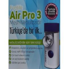 Feellıfe Aır Pro 3 El Tipi Mini Mobil Şarjlı Nebulizatör