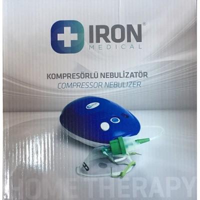 Iron Compact Kompresörlü Nebulizatör Cihazı