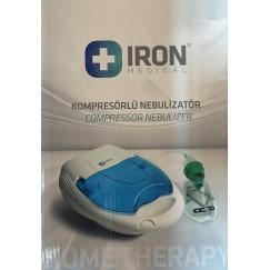 Iron Kapaklı Kompresörlü Nebulizatör Cihazı