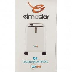Elmaslar Oksijen Konsantratörü 5 Litre OXYTİME Q5 Pulse Oxsimeter Hediyeli