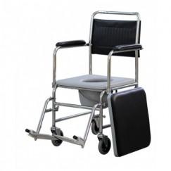 Katlanabilir Klozetli Küçük Tekerlekli Sandalye